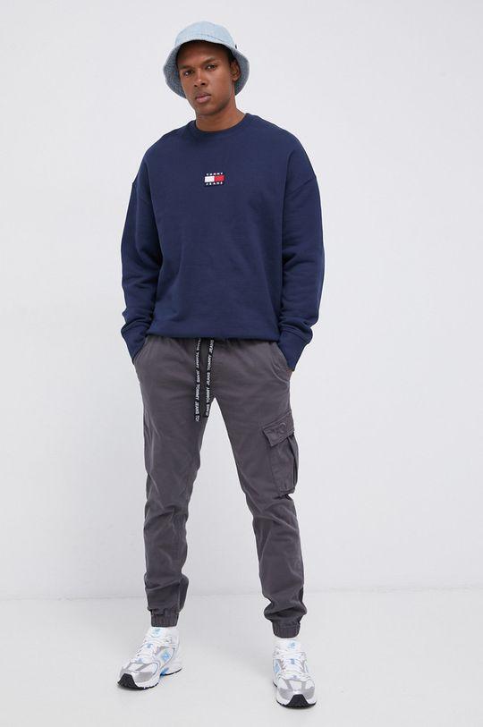 Tommy Jeans - Spodnie grafitowy