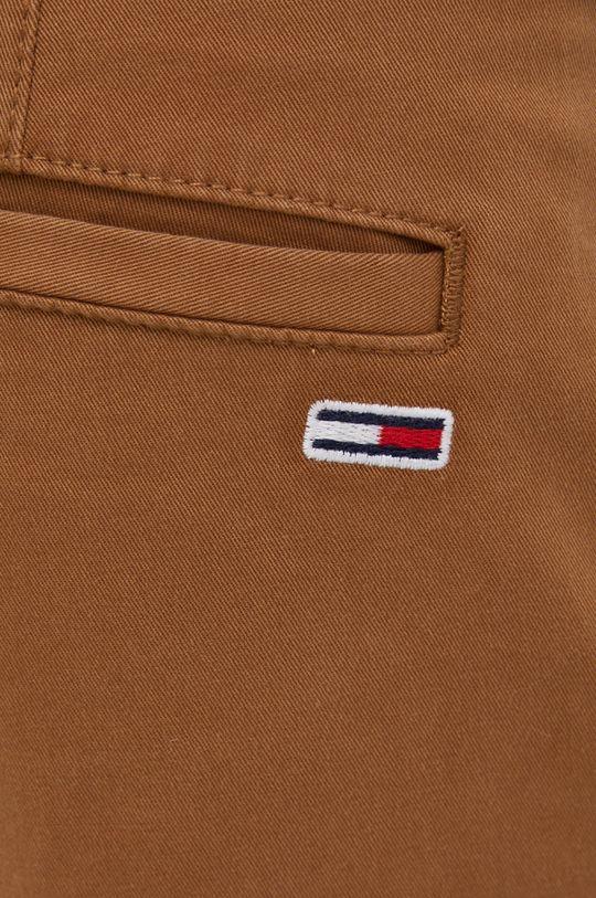 brązowy Tommy Jeans - Spodnie