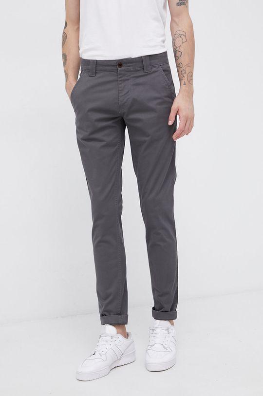 szary Tommy Jeans - Spodnie Męski