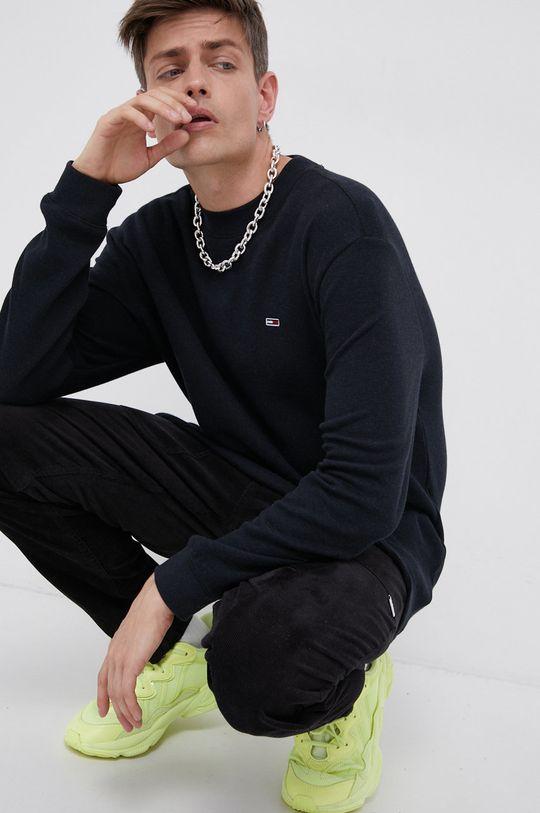 czarny Tommy Jeans - Spodnie sztruksowe