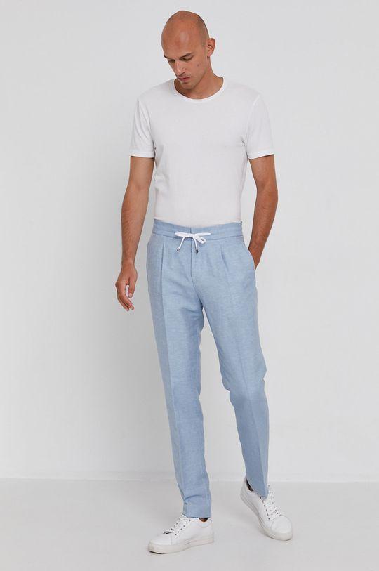 Hugo - Kalhoty modrá