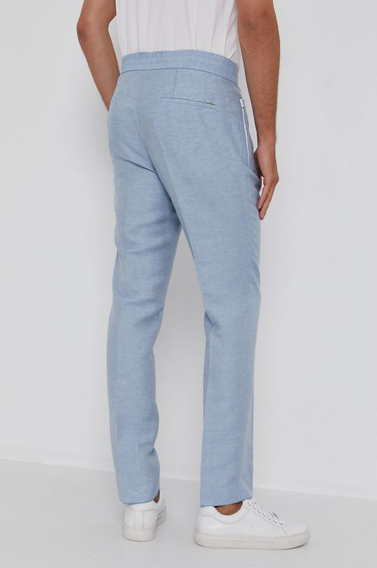 Hugo - Kalhoty  Podšívka: 100% Bavlna Hlavní materiál: 54% Len, 32% Polyester, 14% Viskóza