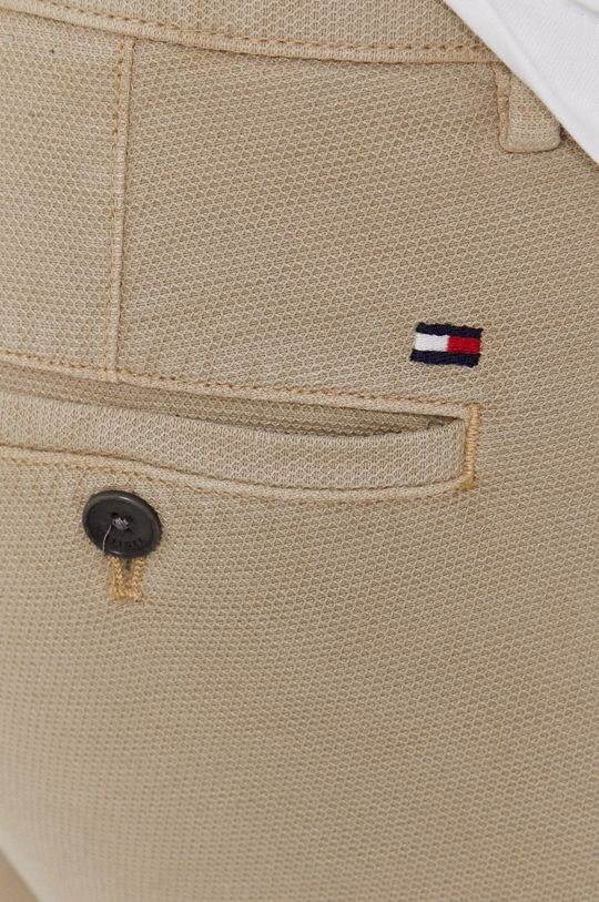 beżowy Tommy Hilfiger - Spodnie