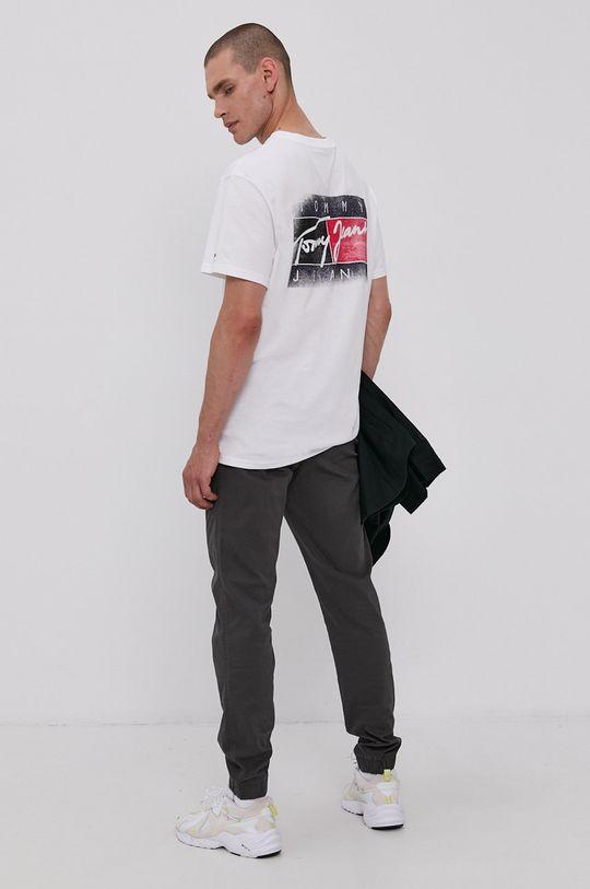 grafitová Tommy Jeans - Kalhoty