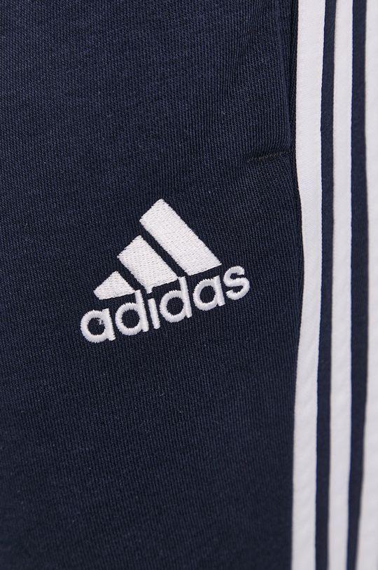 granatowy adidas - Spodnie