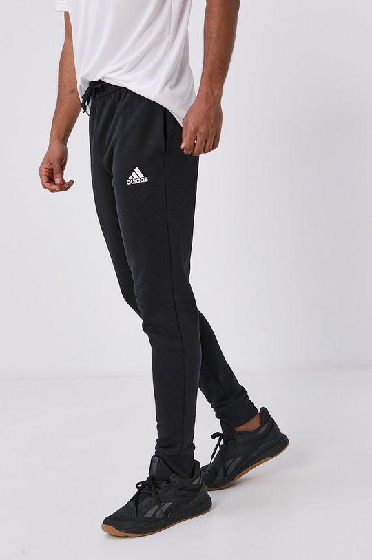 czarny adidas - Spodnie Męski