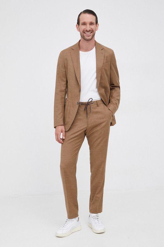 Boss - Pantaloni bej