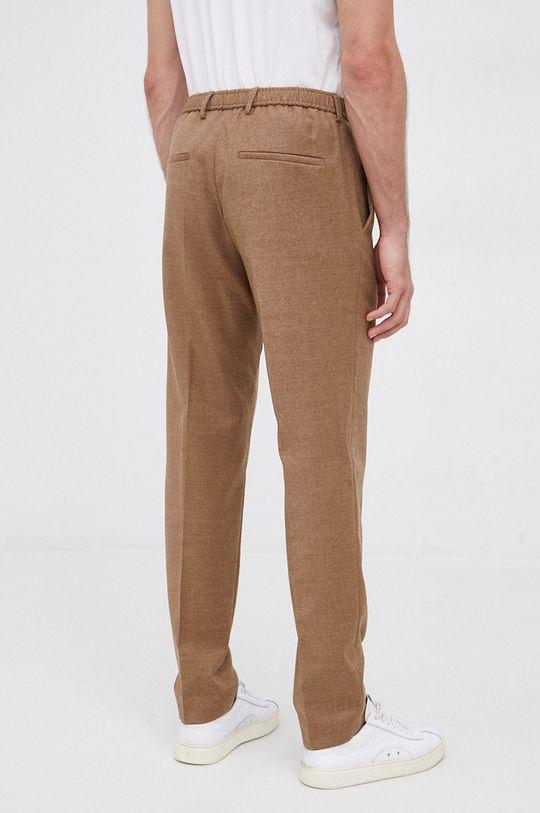 Boss - Pantaloni  1% Elastan, 99% Lana