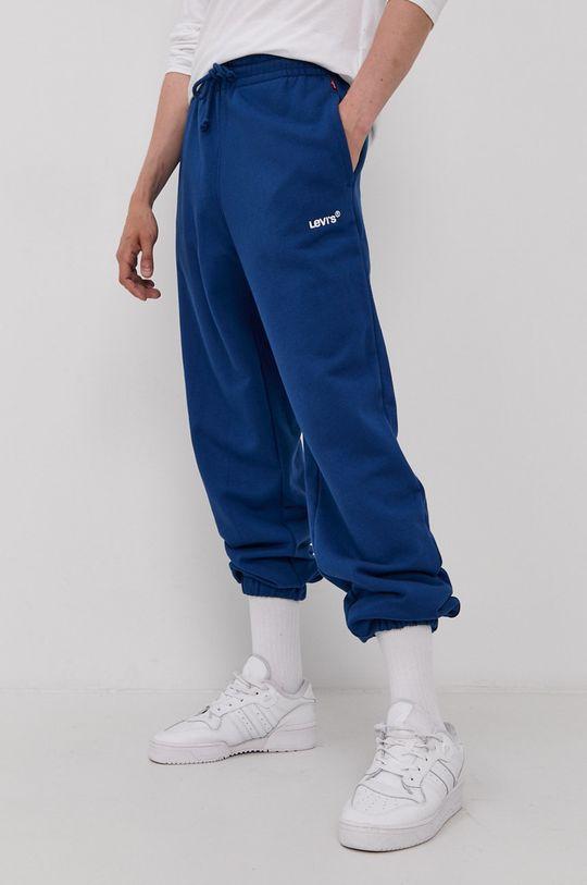 modrá Levi's - Kalhoty Pánský