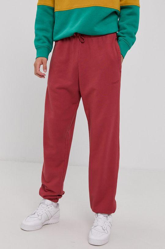 czerwony Levi's - Spodnie Męski