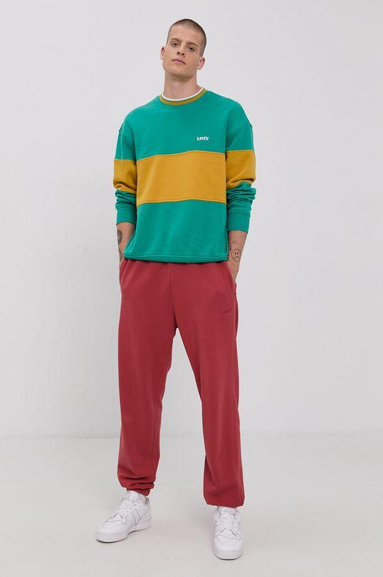 Levi's - Spodnie czerwony