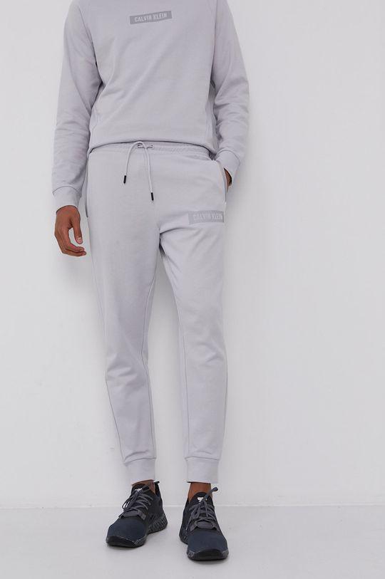 Calvin Klein Performance - Kalhoty šedá