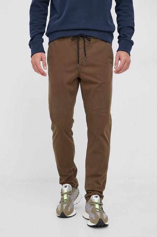 Boss - Spodnie Boss Casual oliwkowy