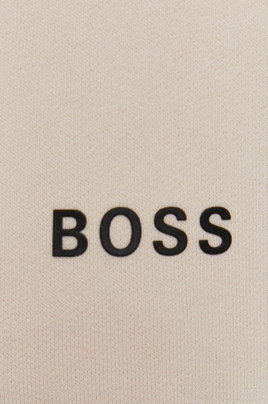 kremowy Boss - Spodnie