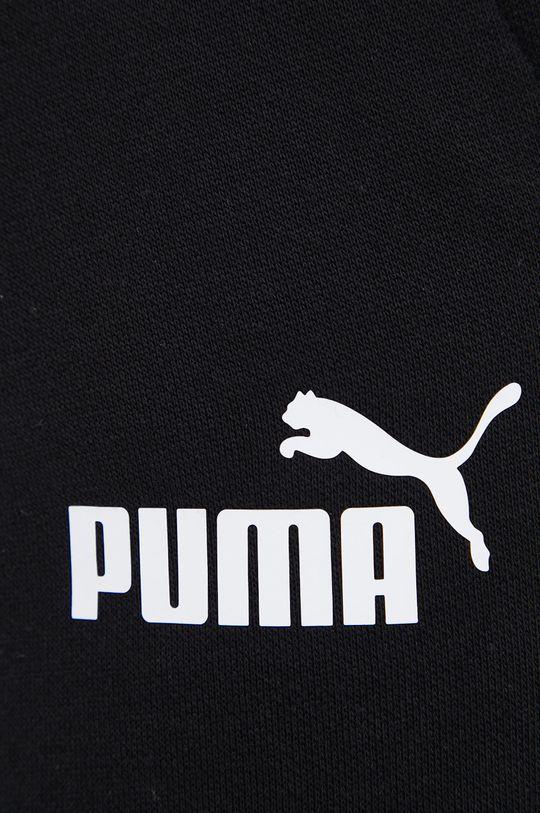 czarny Puma - Spodnie