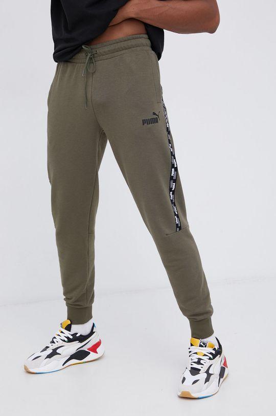 zielony Puma - Spodnie Męski