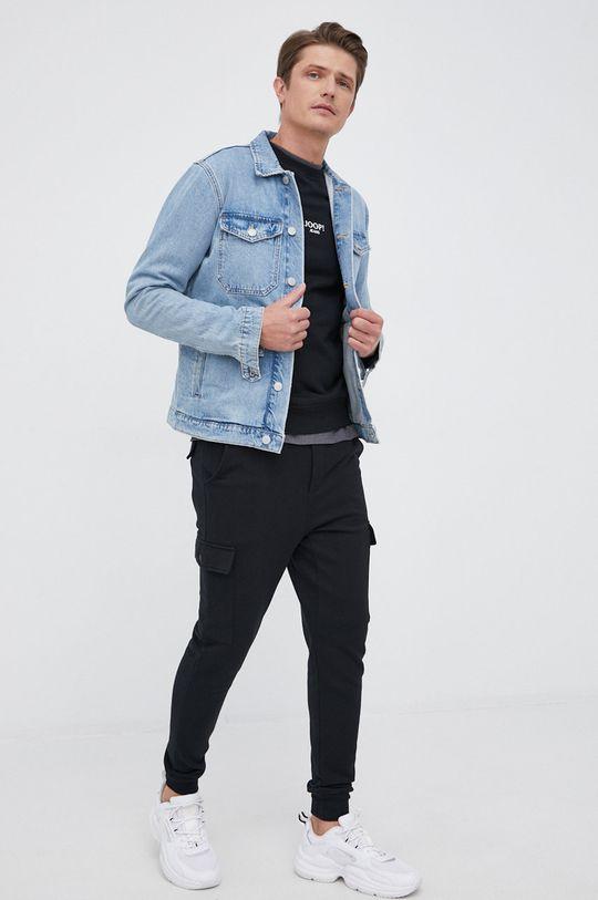 czarny Joop! - Spodnie bawełniane Męski