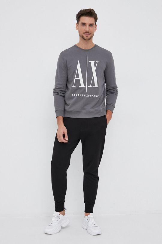 Armani Exchange - Παντελόνι μαύρο