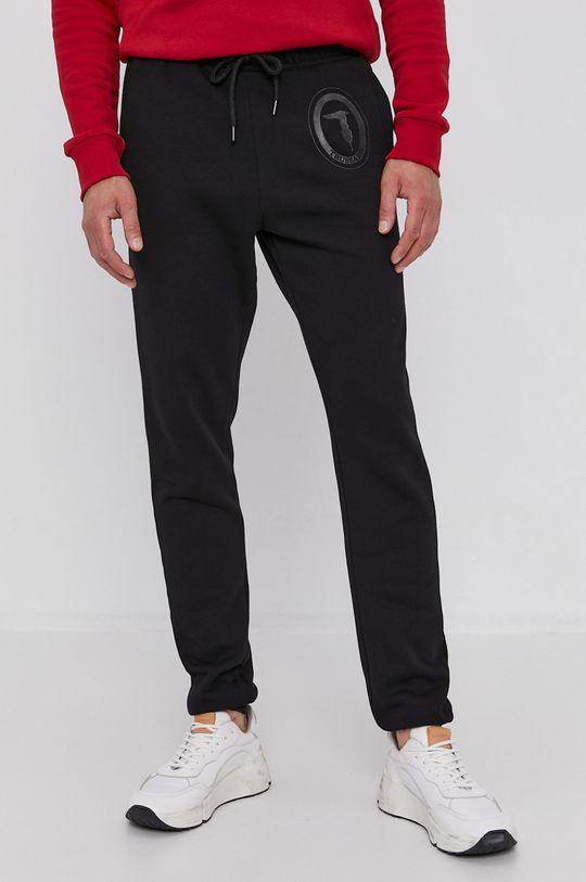černá Trussardi - Kalhoty Pánský