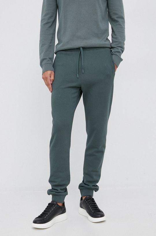 zielony Trussardi - Spodnie Męski