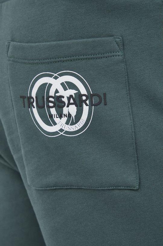 zielony Trussardi - Spodnie