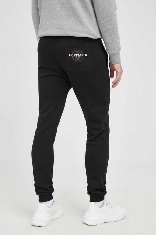 Trussardi - Spodnie Podszewka: 100 % Bawełna, Materiał zasadniczy: 100 % Bawełna, Ściągacz: 95 % Bawełna, 5 % Elastan