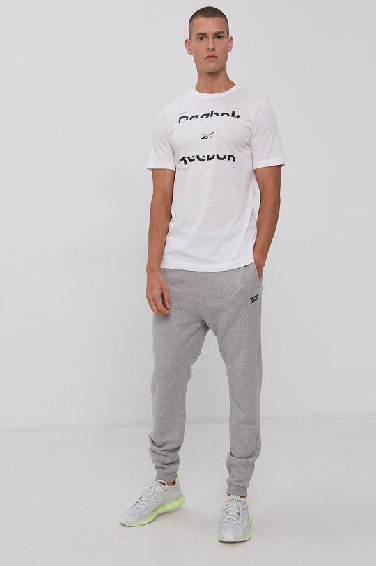 Reebok - Spodnie jasny szary