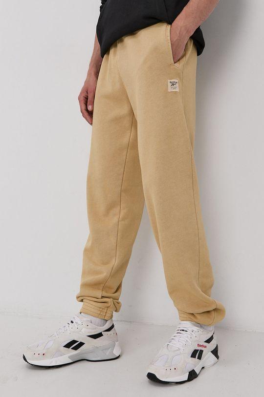 žlutá Reebok Classic - Kalhoty Pánský