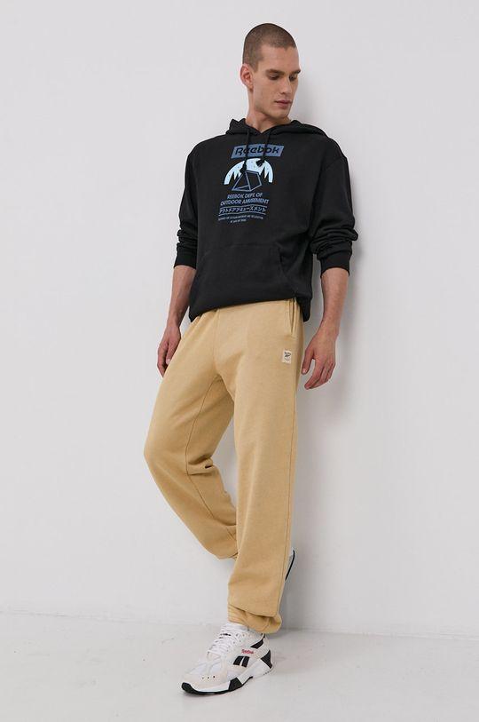 Reebok Classic - Kalhoty žlutá