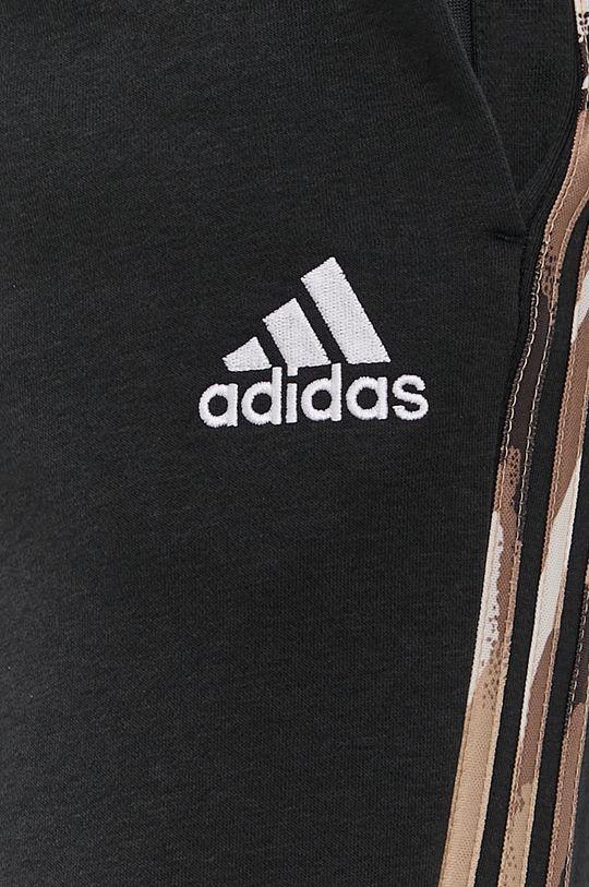 czarny adidas - Spodnie