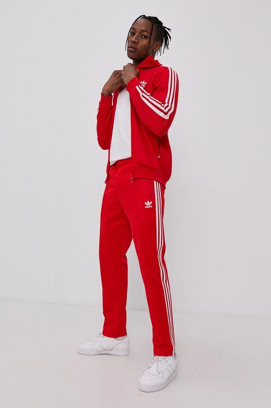 červená adidas Originals - Kalhoty