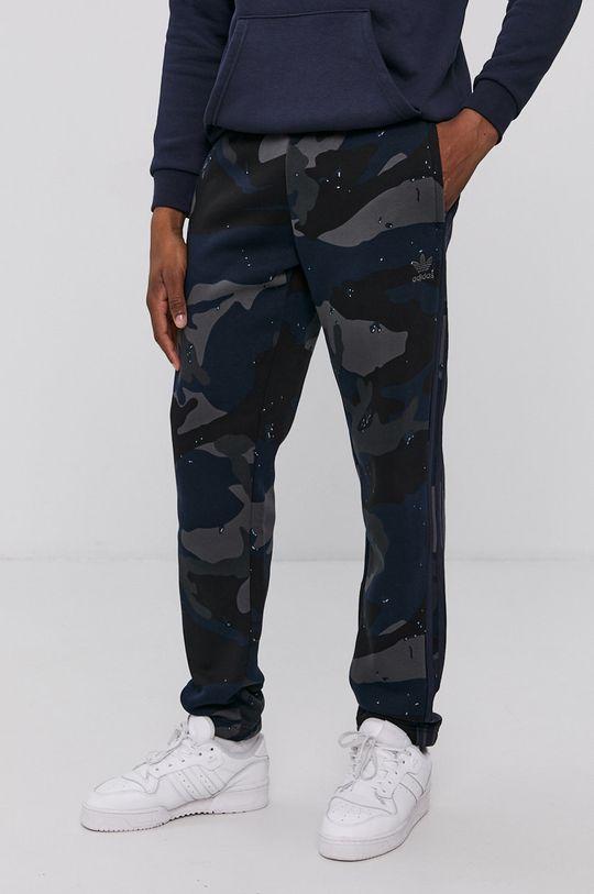 námořnická modř adidas Originals - Kalhoty Pánský