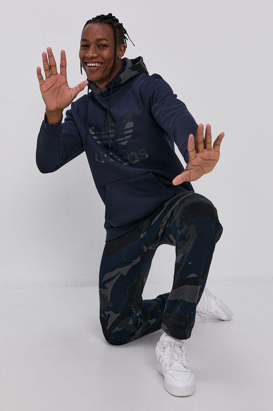 námořnická modř adidas Originals - Kalhoty