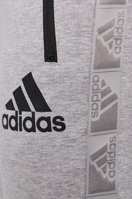 szary adidas - Spodnie