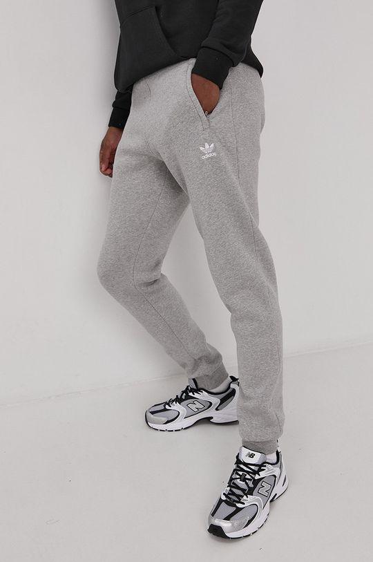 szary adidas Originals - Spodnie Męski
