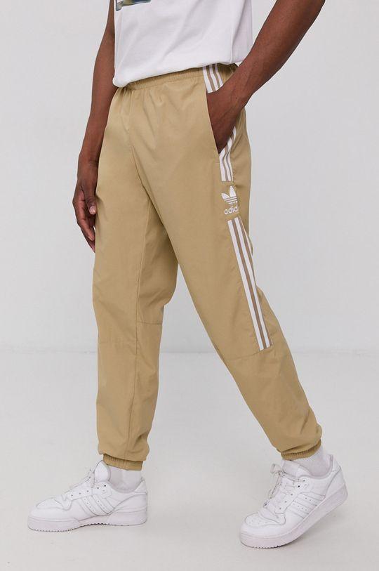 béžová adidas Originals - Kalhoty Pánský