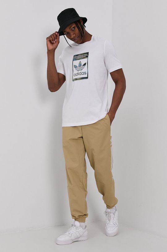adidas Originals - Kalhoty béžová