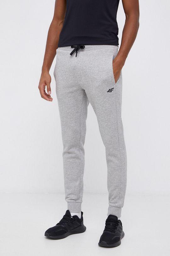 4F - Spodnie jasny szary