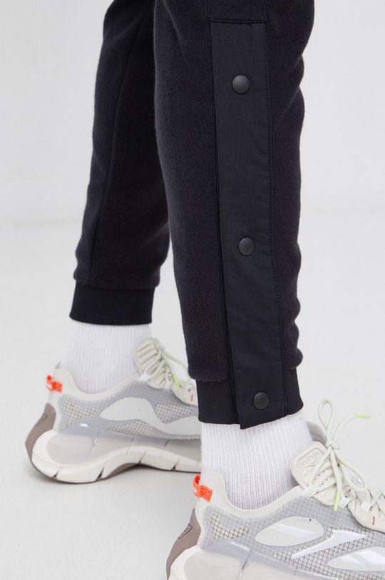 czarny Reebok - Spodnie