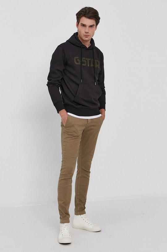 G-Star Raw - Spodnie brązowy