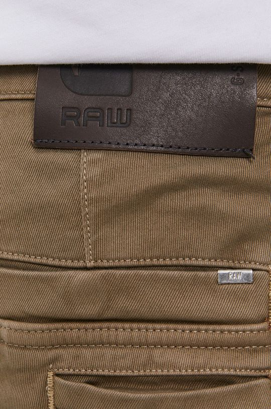 brązowy G-Star Raw - Spodnie