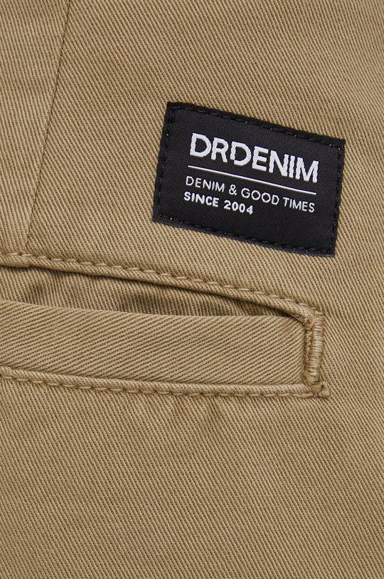oliwkowy Dr. Denim - Spodnie bawełniane