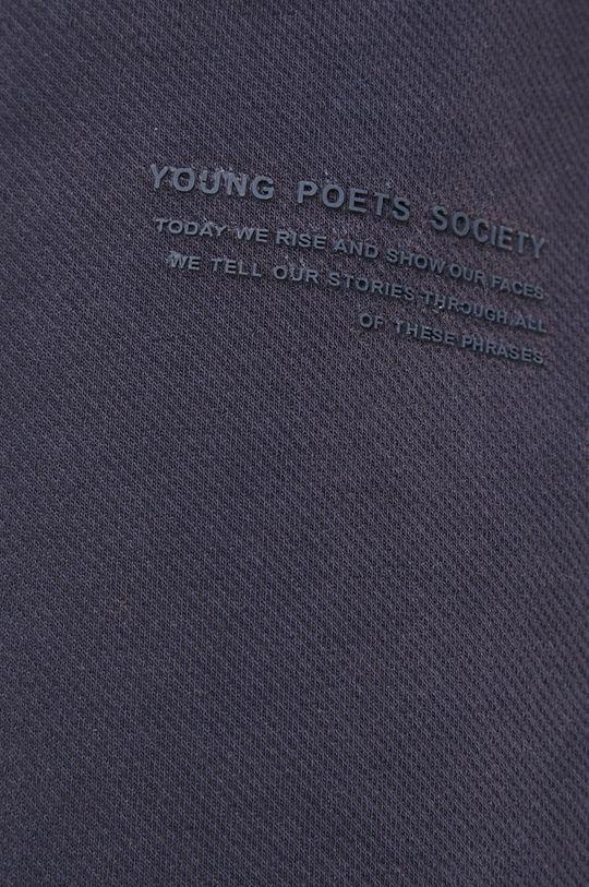 granatowy Young Poets Society - Spodnie Maleo Structured