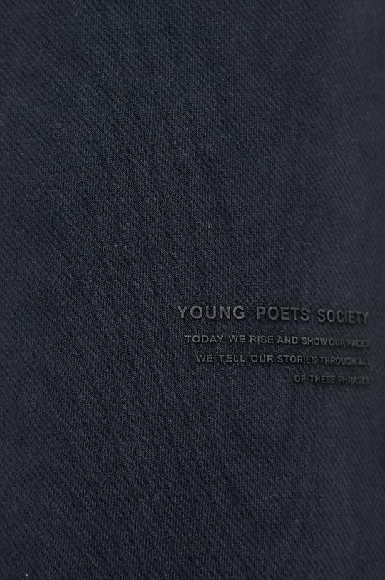 czarny Young Poets Society - Spodnie Maleo Structured