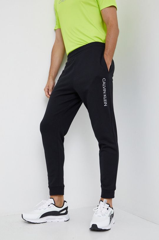 negru Calvin Klein Performance - Pantaloni De bărbați
