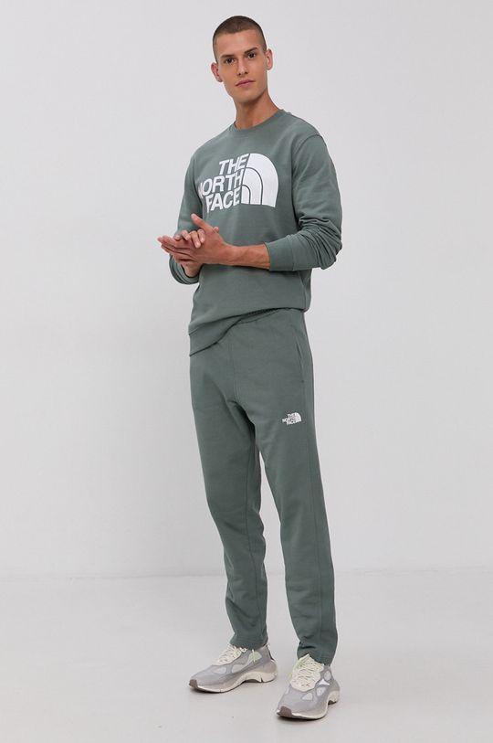 The North Face - Spodnie brudny zielony