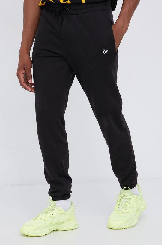 czarny New Era - Spodnie Męski