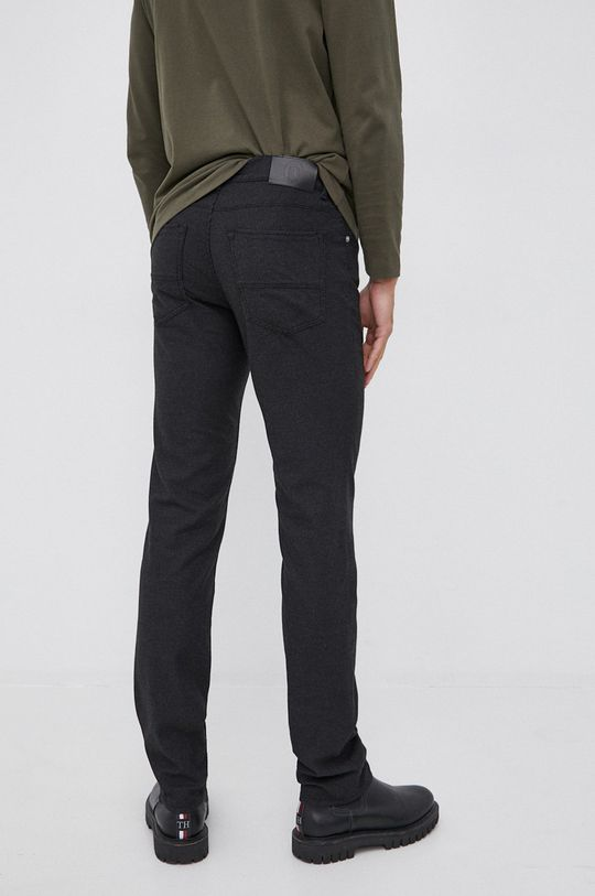 Trussardi - Spodnie Podszewka: 20 % Bawełna, 80 % Poliester, Materiał zasadniczy: 48 % Bawełna, 3 % Elastan, 32 % Poliester, 17 % Wiskoza