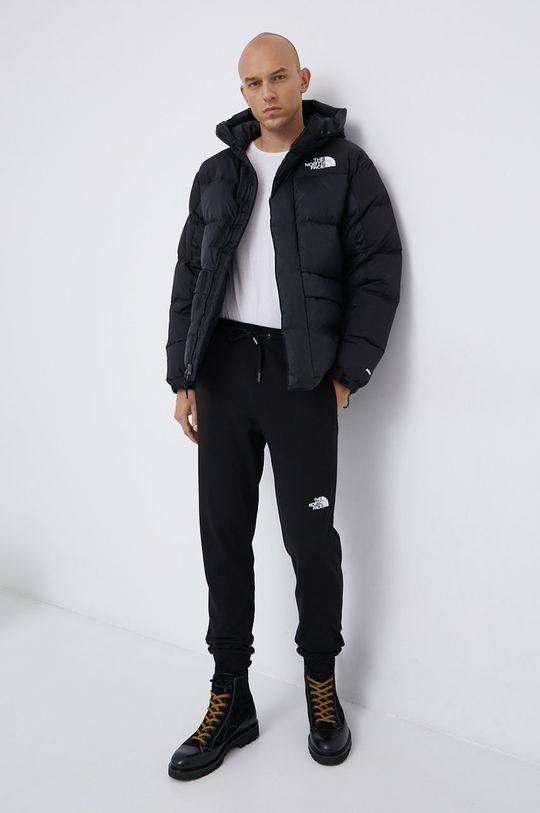 The North Face - Spodnie bawełniane czarny