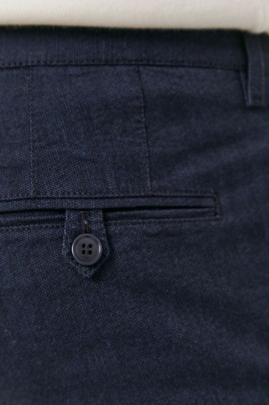 granatowy Drykorn - Spodnie Mad